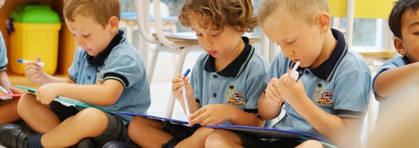 Edi escritura niños